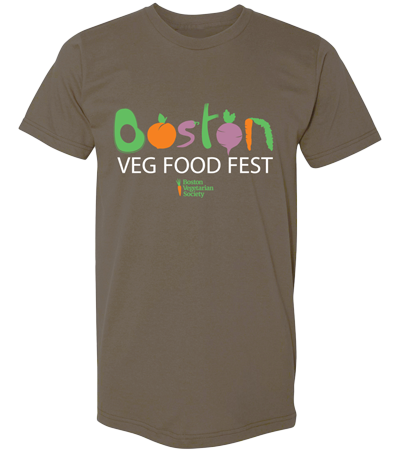 Boston Veg Food Fest T-shirt