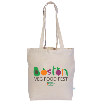 Boston Veg Food Fest tote bag