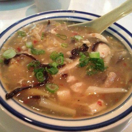 Grasshopper restaurant hot and sour soup
