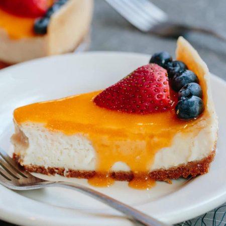 Veggie Galaxy cheesecake