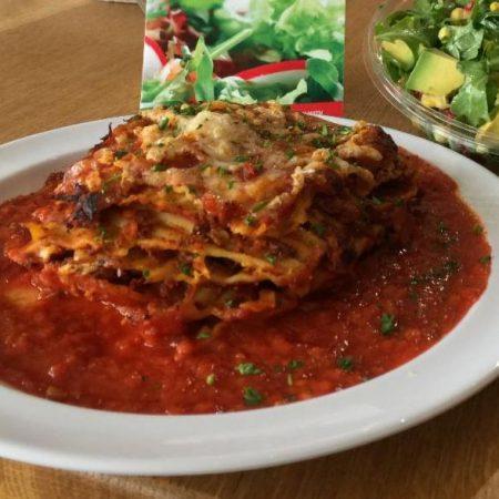 Veggie Crust Lasagne