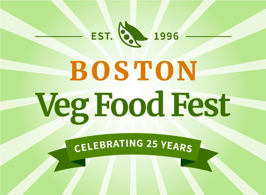 Established 1996 Boston Veg Food Fest celebrating 25 years
