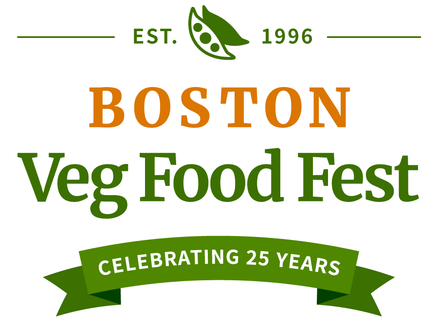 Established 1996 Boston Veg Food Fest celebrating 25 years NEW