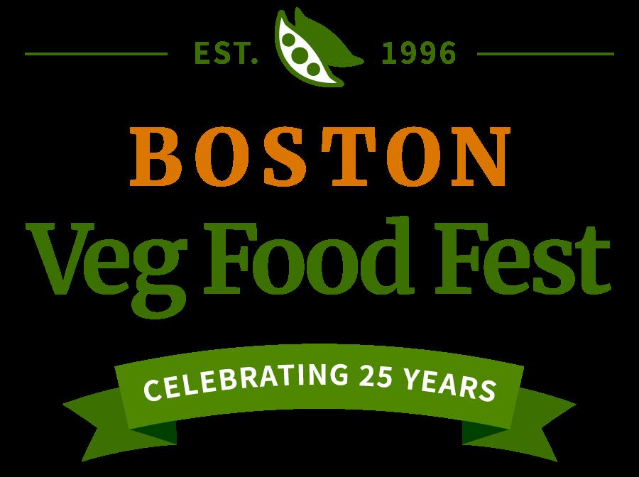 Established 1996 Boston Veg Food Fest celebrating 25 years NEW