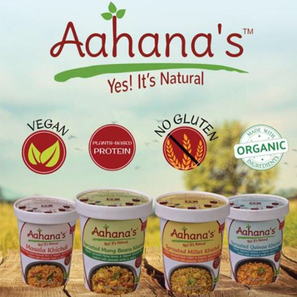 Aahanna's Yes It's Natural vegan no gluten