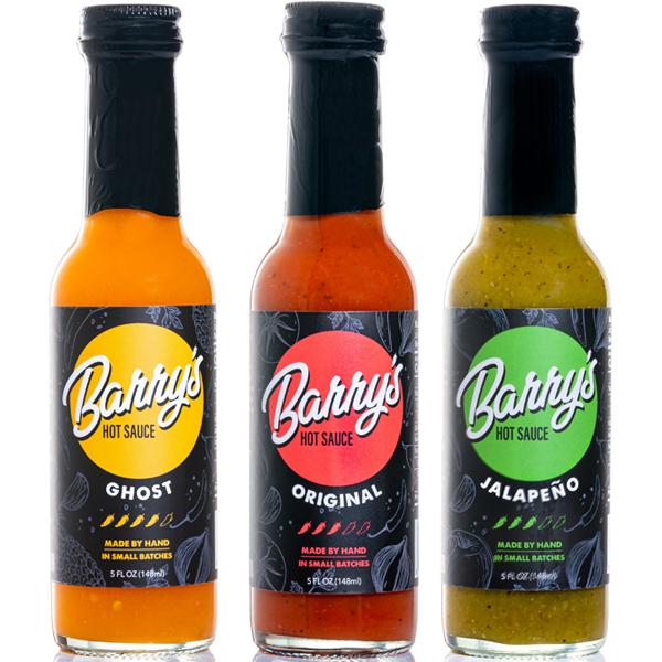 Barry's hot sauce