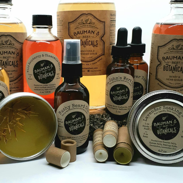 Baumans Best Botanicals products