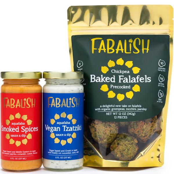Fabalish baked falafels