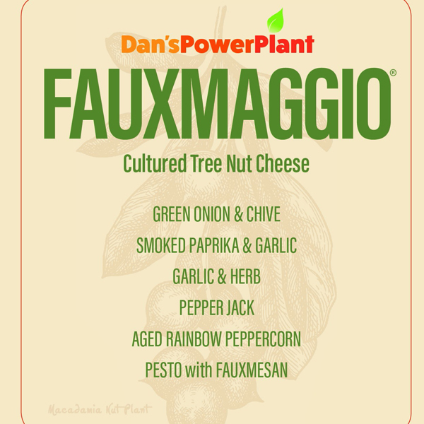 Fauxmaggio cultured nut cheese