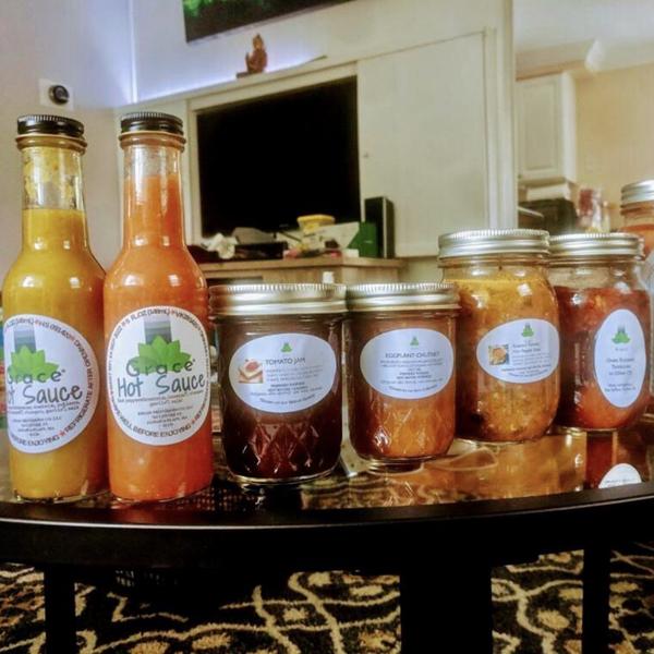 Grace Foods hot sauce