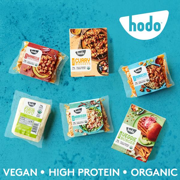 Hodo Foods tofu, vegan, high protein, organic